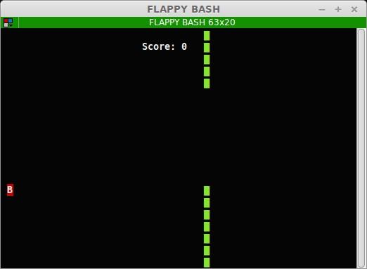 FLAPPY BASH